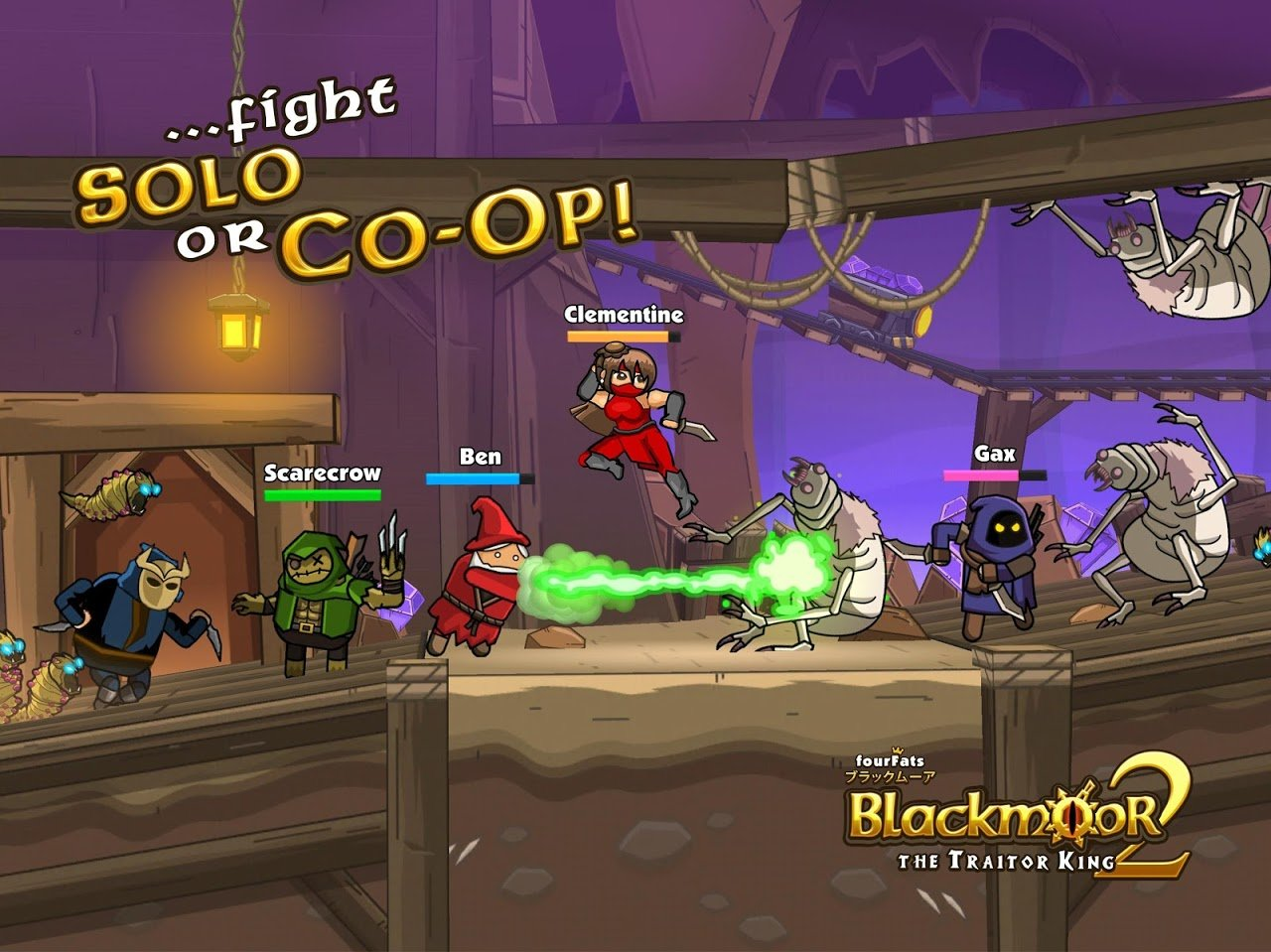 Blackmoor 2 Gameplay