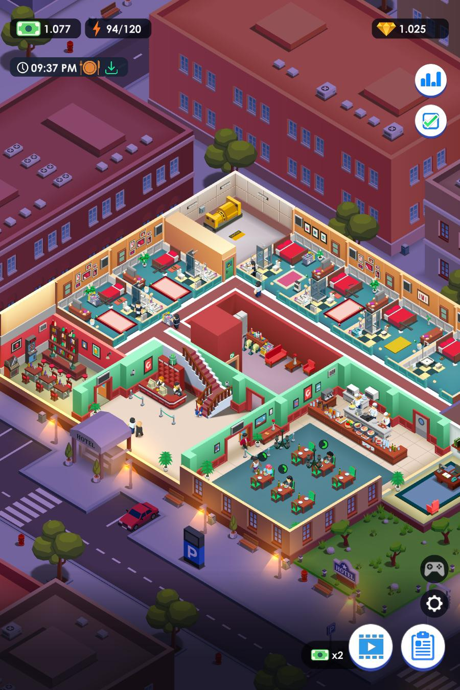 Hotel Empire Tycoon Graphics
