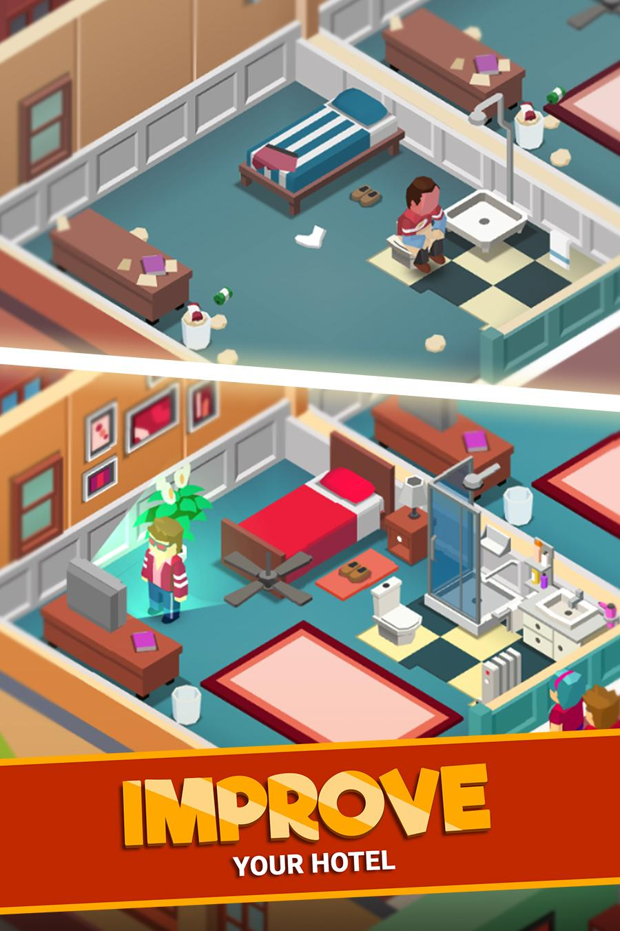 Hotel Empire Tycoon Screenshot