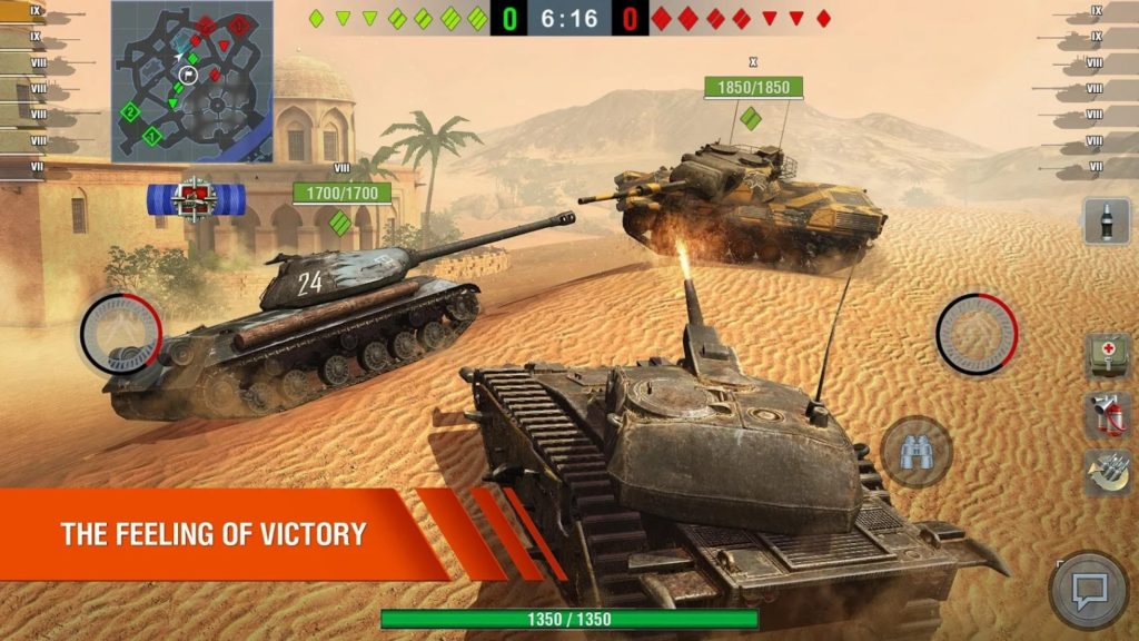 World of Tanks Blitz gameplay 1024x576