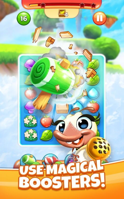 Best Fiends Stars boosters