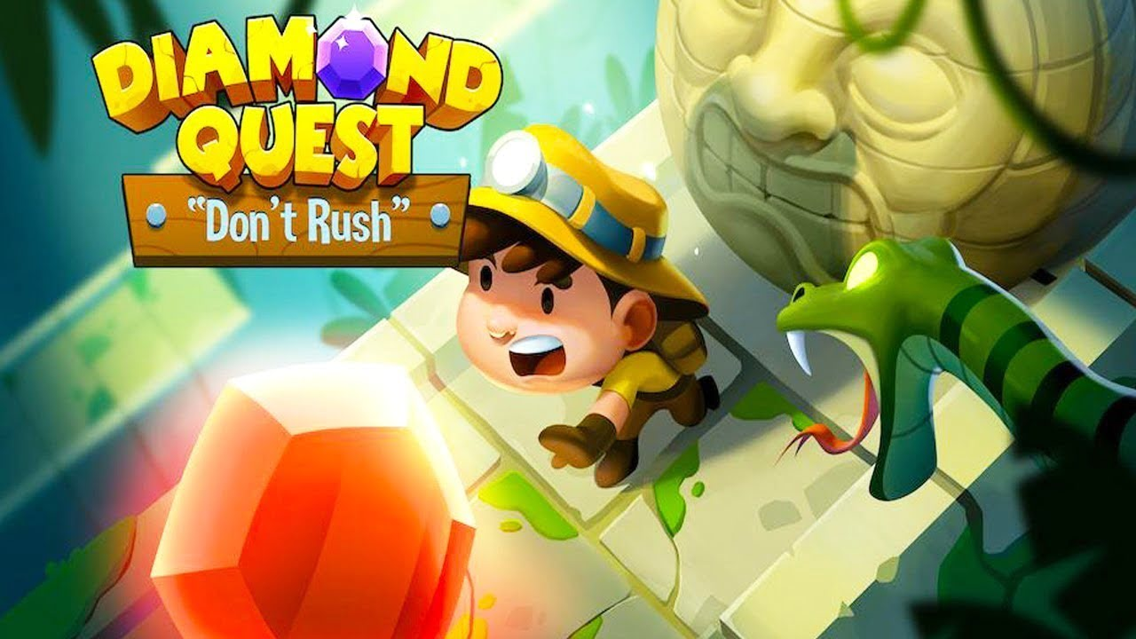 Diamond Quest Dont Rush cover