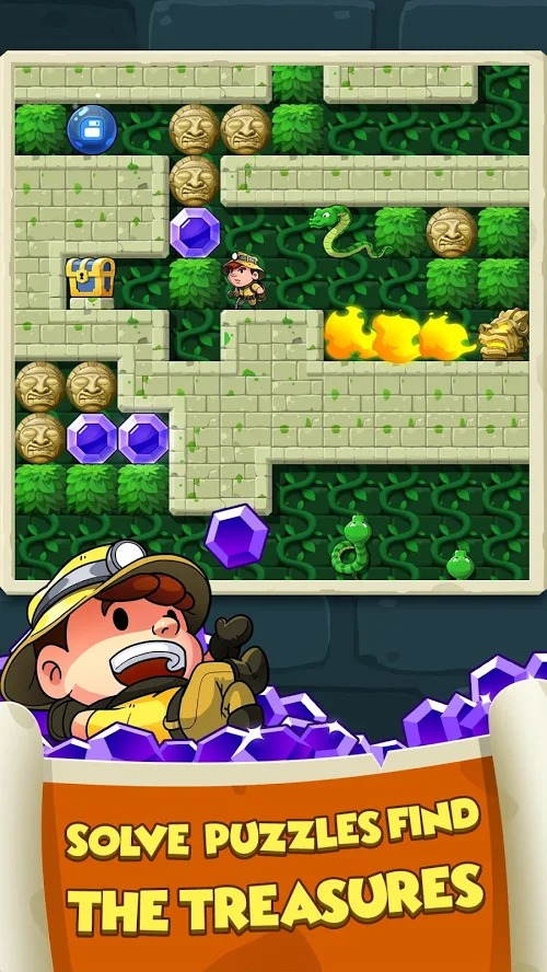 Diamond Quest Dont Rush graphics