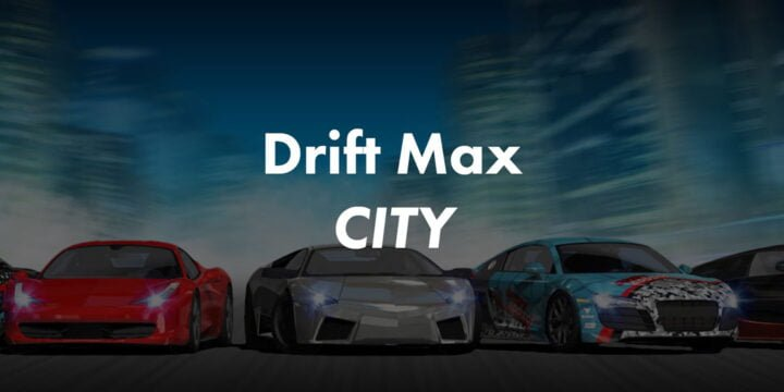 Drift Max City MOD APK by APKMODY 720x360