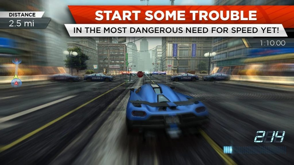 Need for Speed Most Wanted gameplay 1024x576