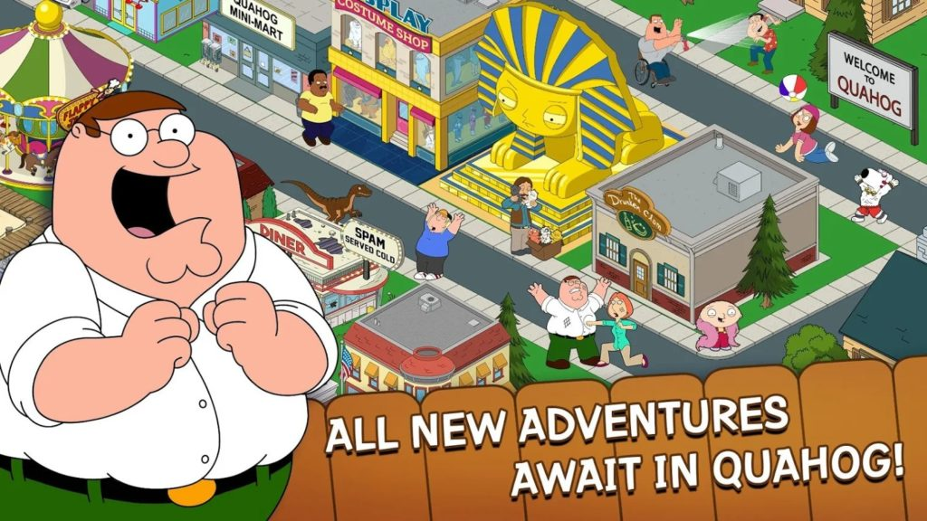 Family Guy gameplay 1024x576
