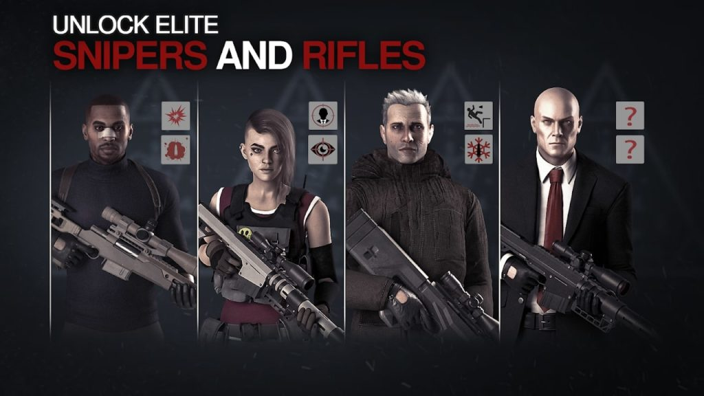 Hitman Sniper 2 World of Assassins characters 1024x576