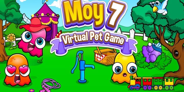 Moy 7 the Virtual Pet Game MOD APK cover 720x360