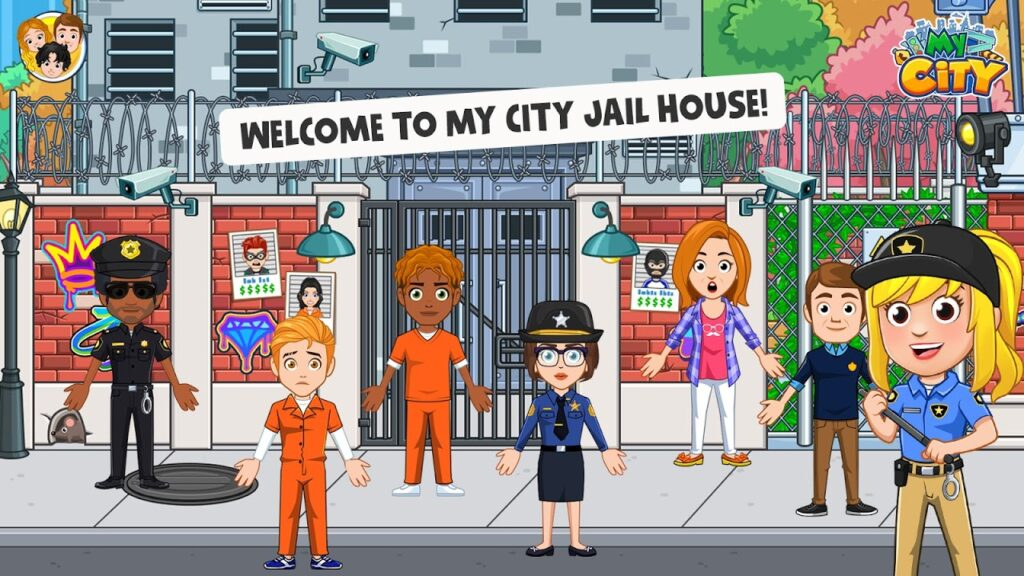 My City Jail House APK 1024x576