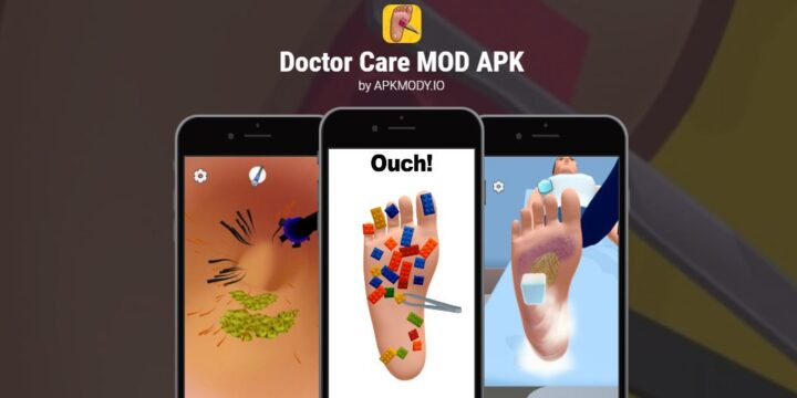 Doctor Care MOD APK cover 720x360