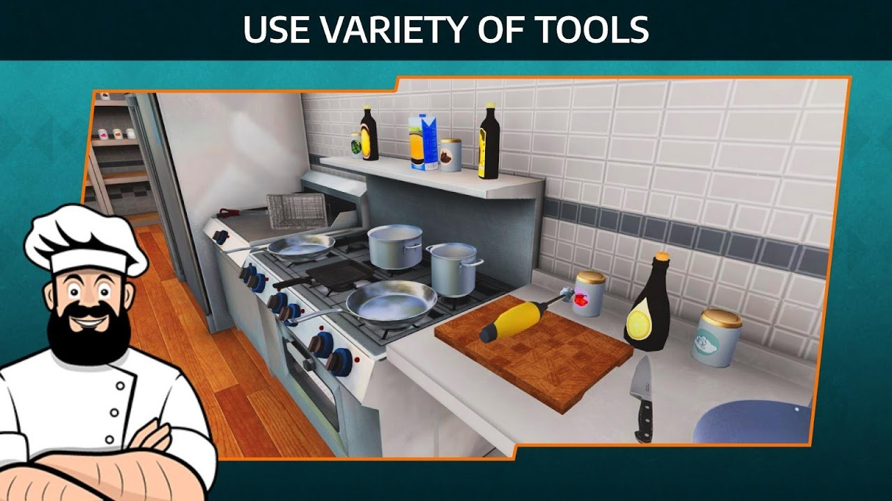 Cooking Simulator Mobile screenshot