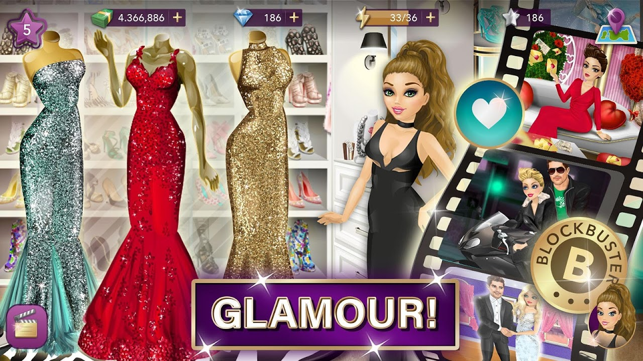 Hollywood Story Fashion Star for android