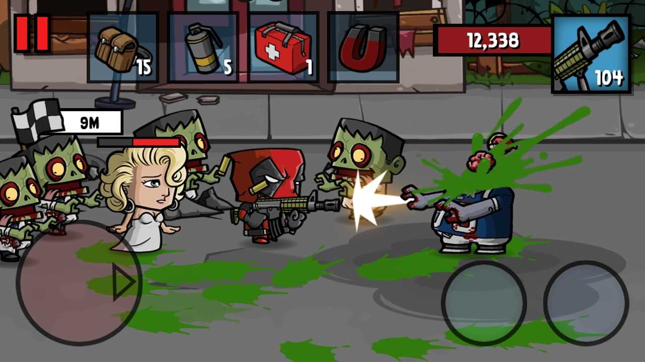 Zombie Age 3 gameplay