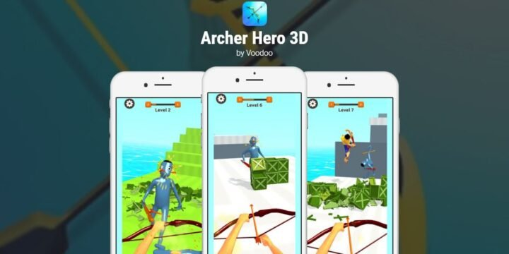 Archer Hero 3D APK cover 720x360