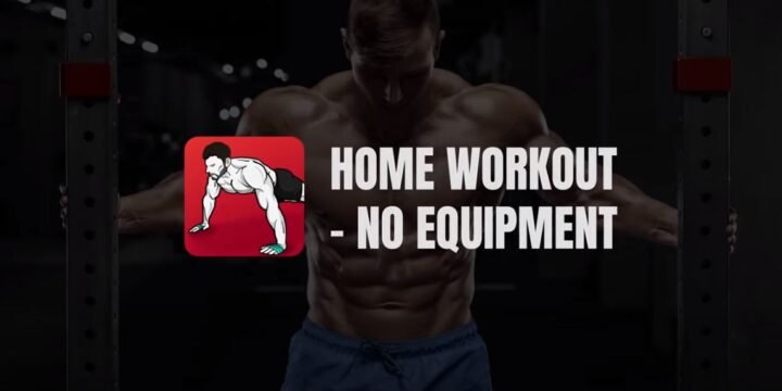 Home Workout MOD APK cover 720x360