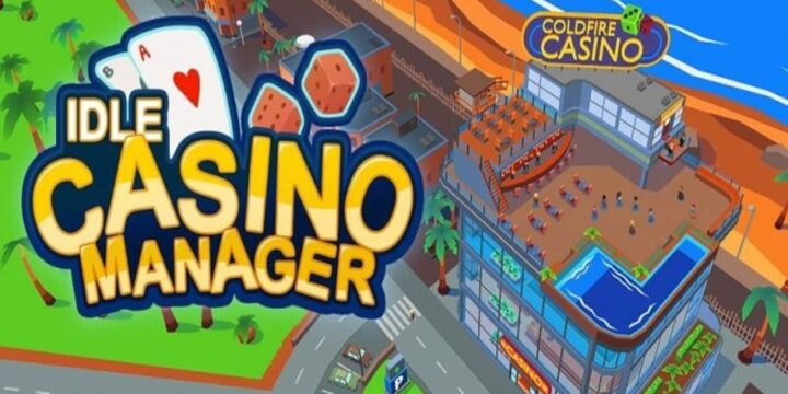 Idle Casino Manager MOD APK cover 720x360