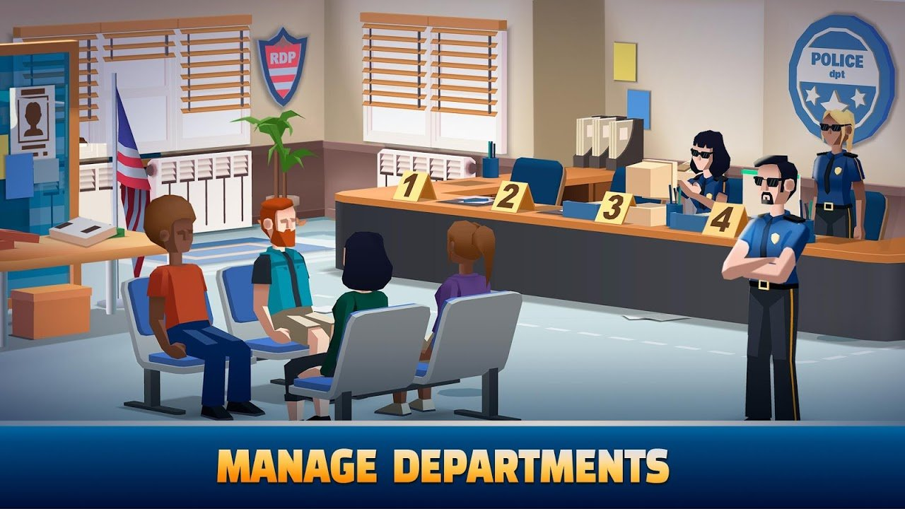 Idle Police Tycoon MOD APK 1.0.2 (Unlimited Money) Download