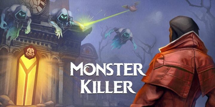 Monster Killer Pro MOD APK cover 720x360