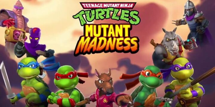 TMNT Mutant Madness MOD APK cover 720x360