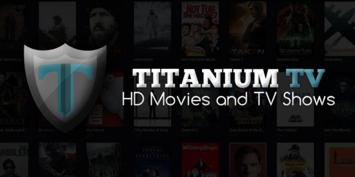 Titanium TV APK cover 720x360
