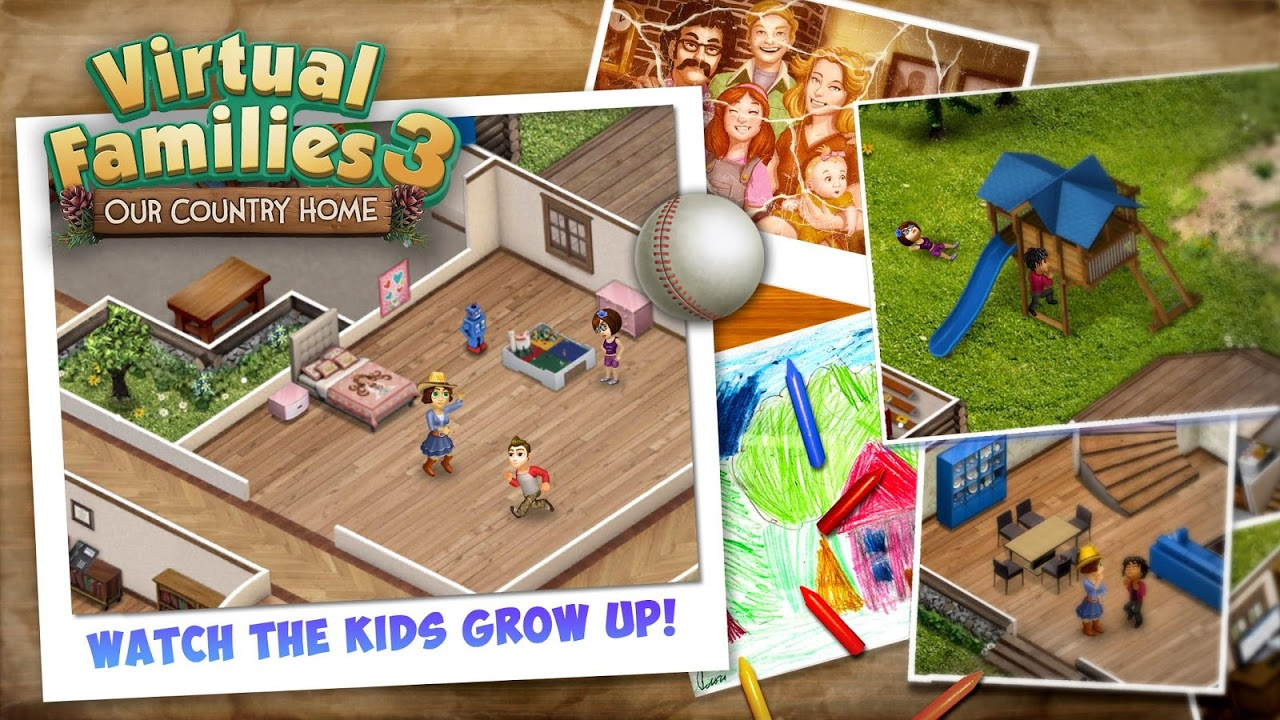 Virtual Families 3 gameplay