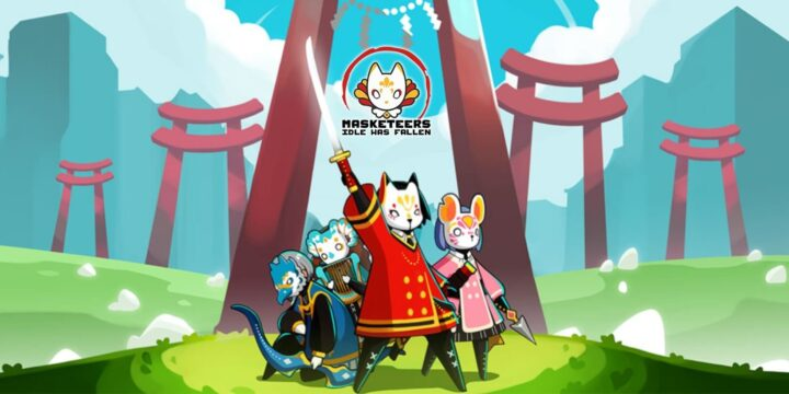 Masketeers MOD APK cover 720x360