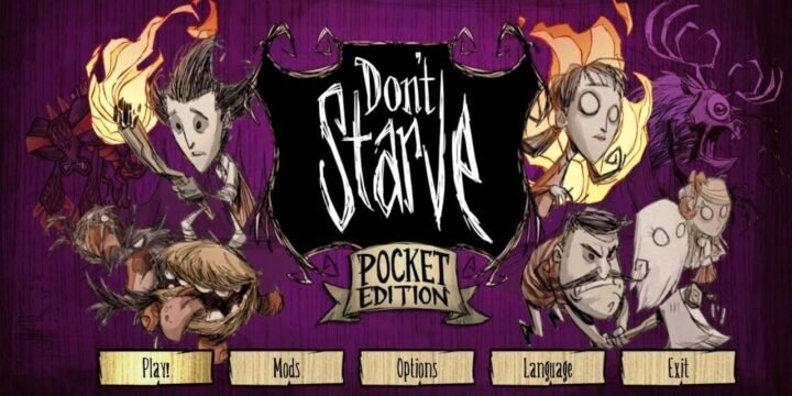Dont Starve Pocket Edition MOD APK cover 720x360