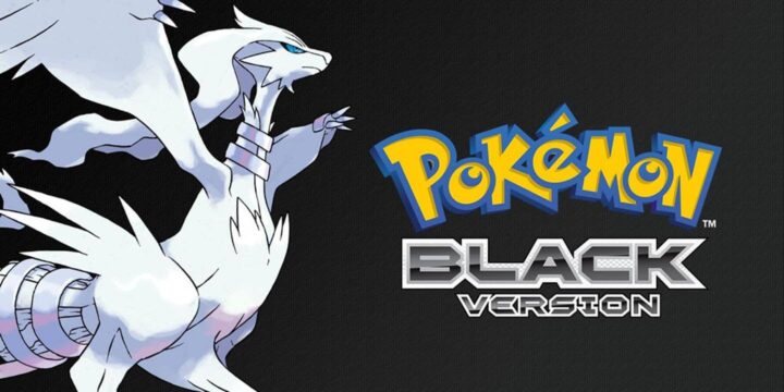 Pokemon Black Nintendo DS ROMs Cover 1440x720