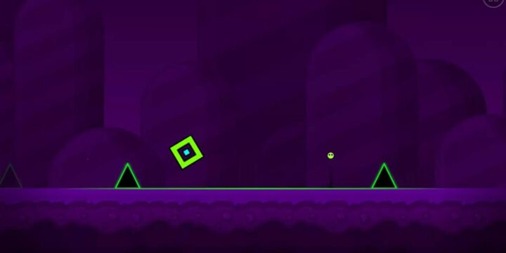 Geometry Dash World MOD APK cover 720x360