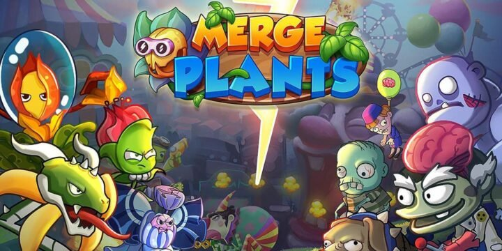 Merge Plants Aliens Defense cover 720x360