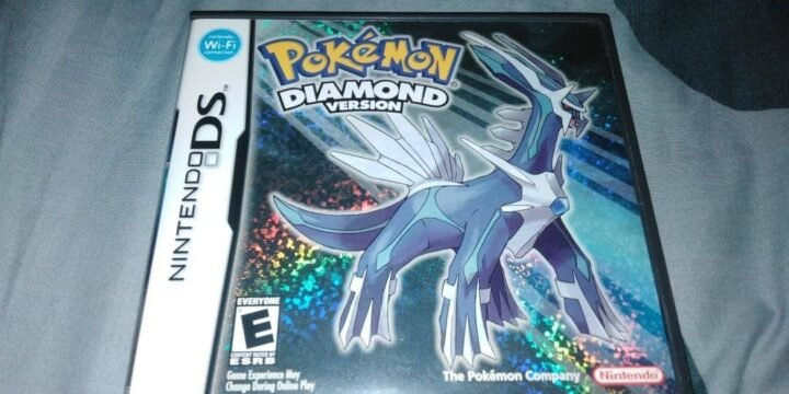 Pokemon Diamond NDS cover 720x360