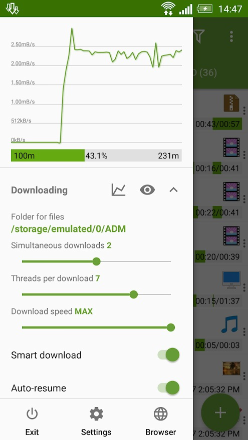 Advanced Download Manager MOD by APKMODY