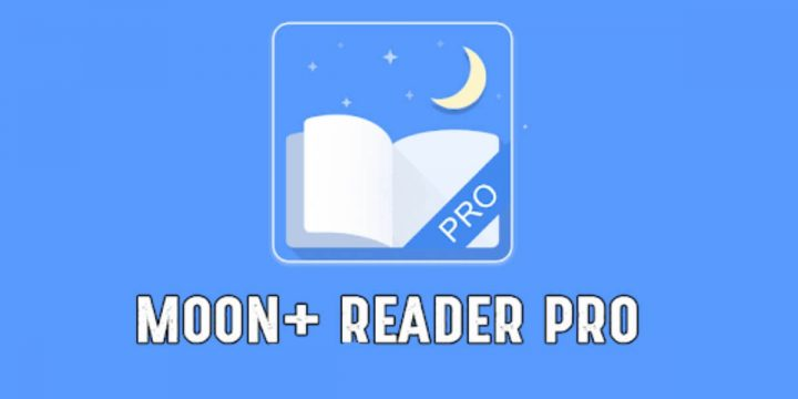 Moon Reader Pro APK cover 720x360