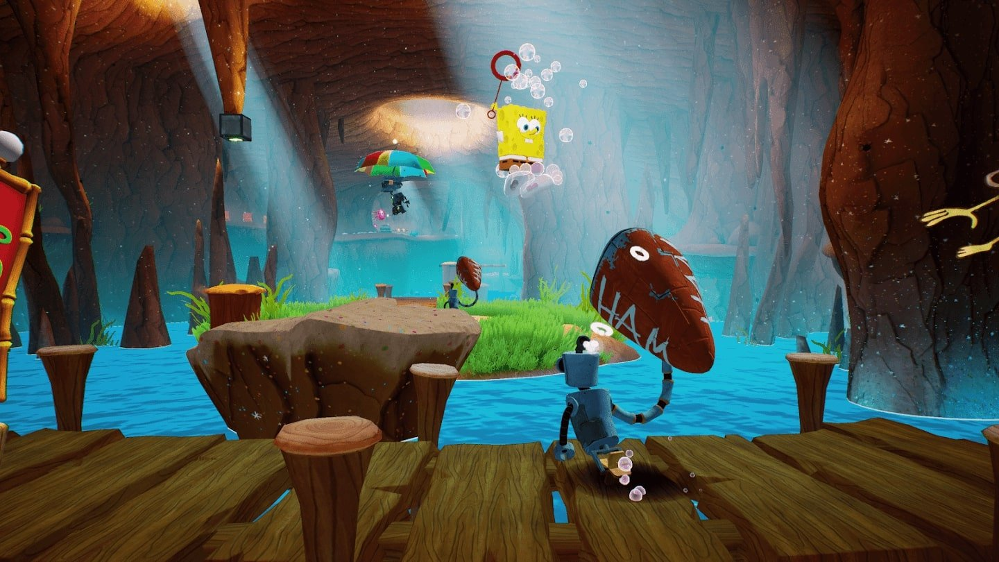 SpongeBob SquarePants Battle for Bikini Bottom gameplay