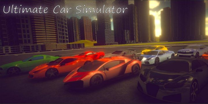 Super Car Simulator MOD APK cover 720x360