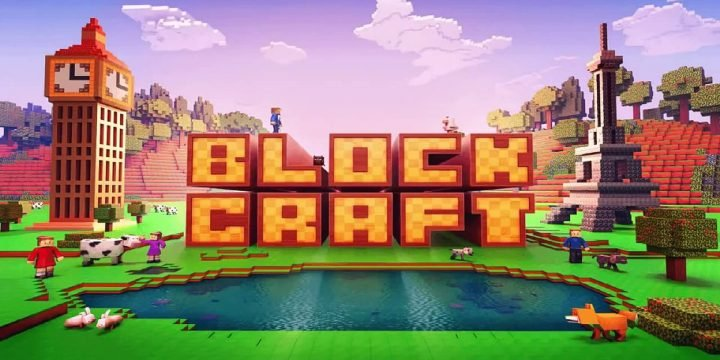 Block Craft 3D MOD APK cover 1440x720