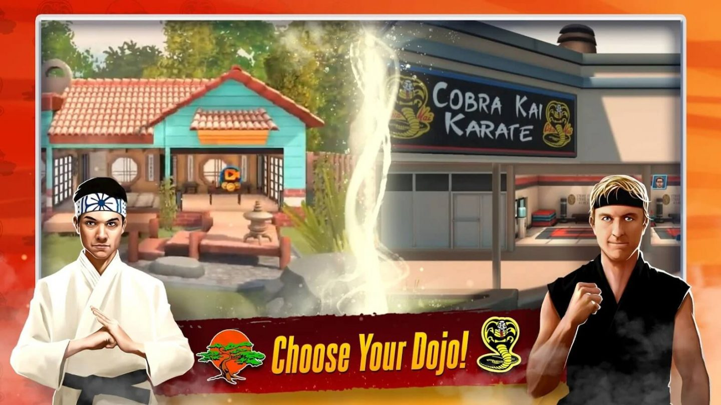 Cobra Kai Card Fighter APK download 1440x810