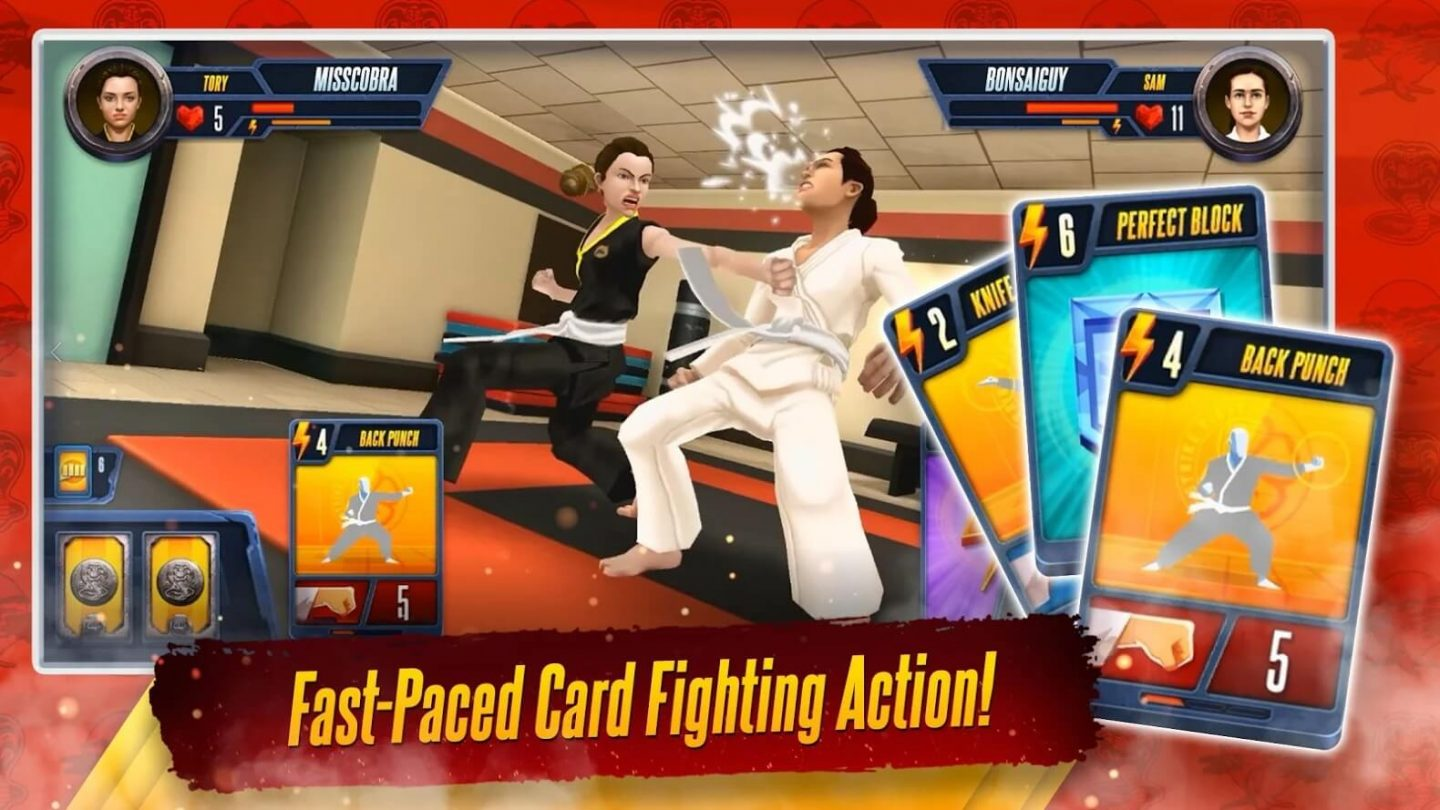 Cobra Kai Card Fighter for Android 1440x810
