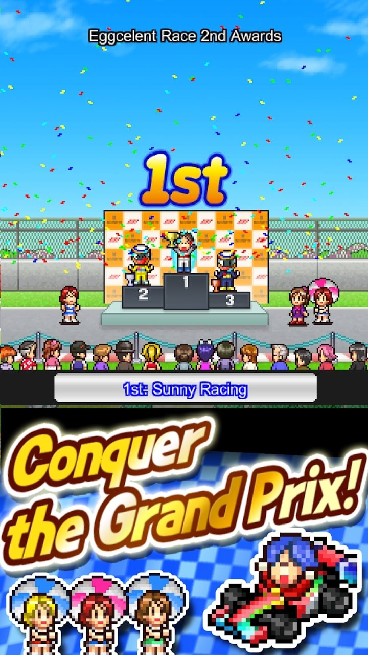 Grand Prix Story 2 gameplay