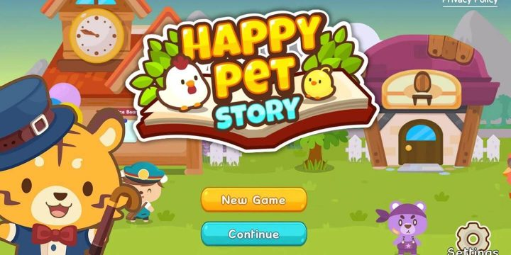 Happy Pet Story MOD APK cover 720x360
