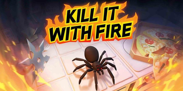 Kill It With Fire MOD APK cover