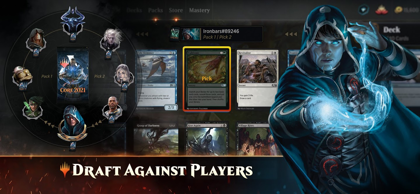 Tangkapan layar Magic The Gathering Arena