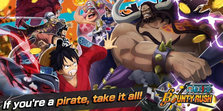 One Piece Bounty Rush MOD APK cover 720x360
