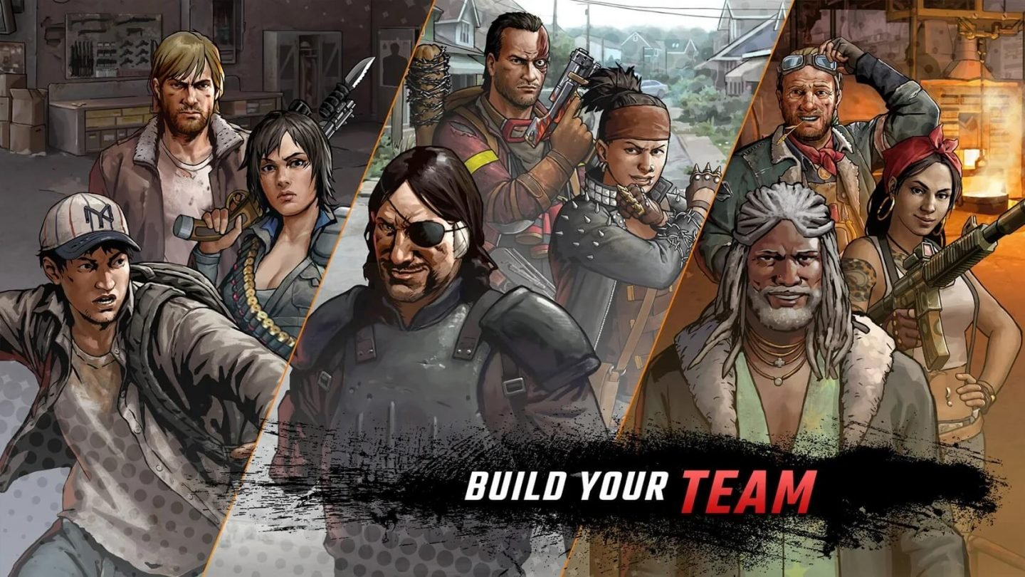 The Walking Dead Road to Survival APK unduh 1440x810