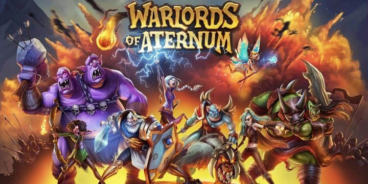 Warlords of Aternum MOD APK cover 720x360