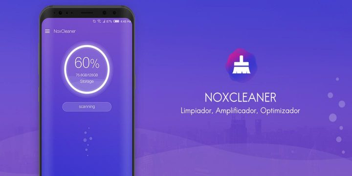 Nox Cleaner MOD APK cover 720x360