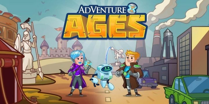 AdVenture Ages MOD APK cover 720x360