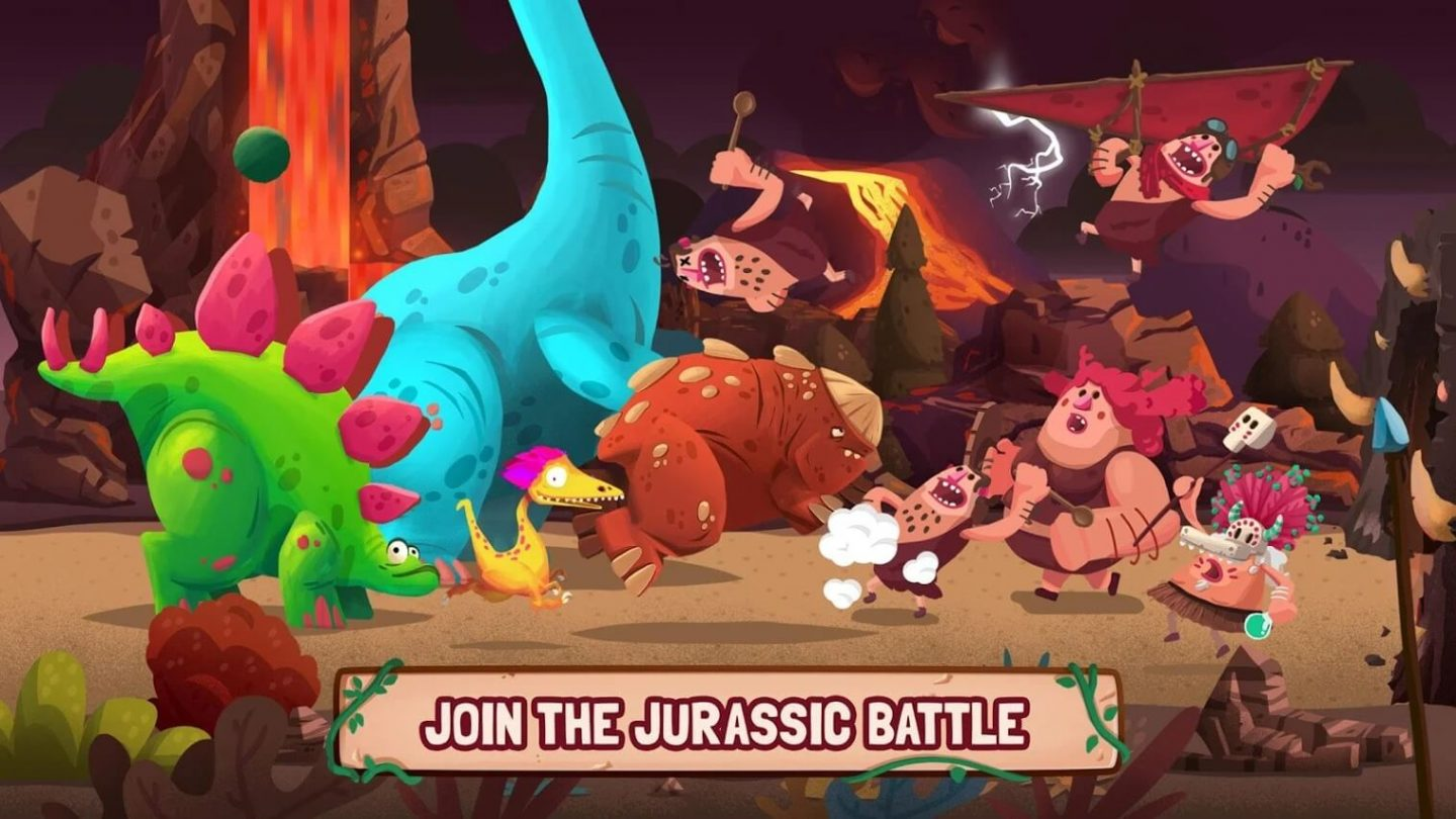 Dino Bash MOD APK download 1440x810